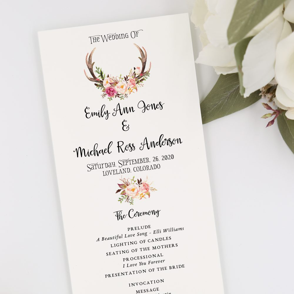 Deer-Wedding-Program1